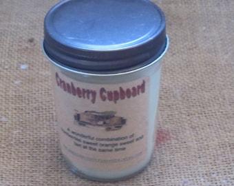 Farmhouse jelly jar candle Cranberry cupboard