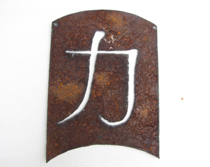 Strength Energy Kanji, Asian Symbol Garden Art, Japanese Symbol, Asian Home Decor, Feng Shui Decor,  Recycled Metal Wall Art