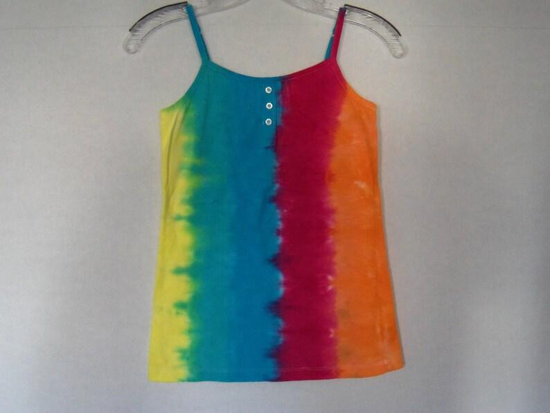 Halter Top Girls medium size 10 OOAK hand dyed