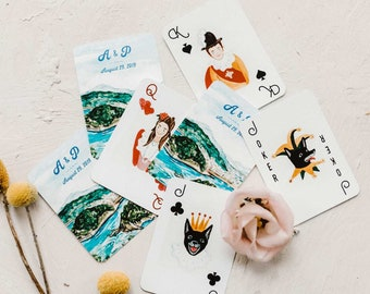 Illustrated Deck of Cards