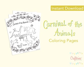 Ballet Pdf Coloring Sheets 11 Pages Printable Ballet Etsy