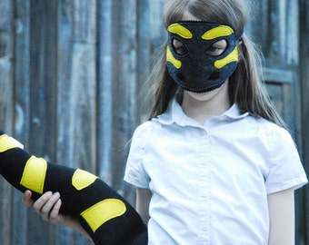 Tiger Salamander Costume - Mask, Tail, Mask & Tail Combo Pack