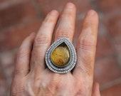 Amber ring V