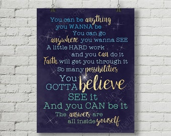 Word art poster etsy finding neverland inspired fan art printable finding neverland musical lyrics stars word art poster 11x14 and 8x10 instant download solutioingenieria Gallery