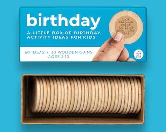 Birthday Activities for Kids, Kids Birthday Ideas, Birthday in a Box, Half Birthday, Preschool Birthday, Birthday Crafts Kids, Birthday Box