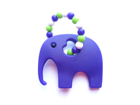 Elephant Teething Toy Silicone Teething Toy Baby Teether  66e5e4033