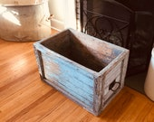 Antique Barn Crate Horse Stable Equestrian Shipping Farm Industrial Crate Shop Crate Antique Vintage Grocers Wooden Box Advertising Box