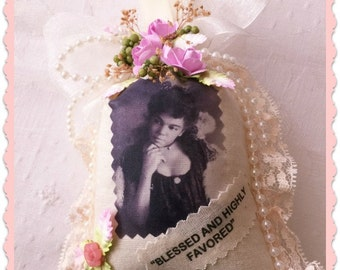 Sachet, African American Vintage Lady, Victorian Black Lady, Handcrafted Sachet