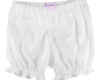 JULY PREORDER Lolita Long Bloomers with bows sateen fabric shorts cotton underwear lingerie drawers pajamas nightwear sleepwear cute