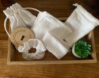 Reusable at Home Spa Gift Bag Set