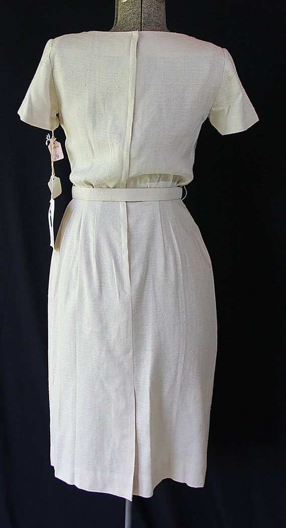 50s 60s Dress, Minx Modes, Vintage Deadstock, Wig… - image 5