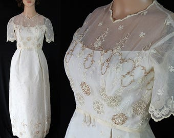Victor Costa Pandora, Wedding Dress, Bridal Gown, Beaded Train, Chapel Train