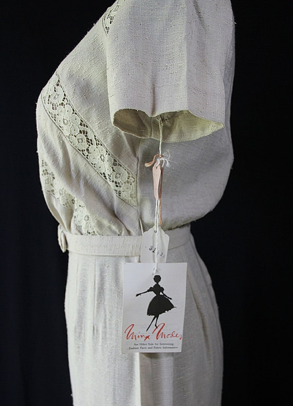 50s 60s Dress, Minx Modes, Vintage Deadstock, Wig… - image 4