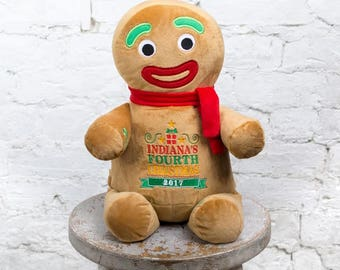 Plush Gingerbread Man Etsy