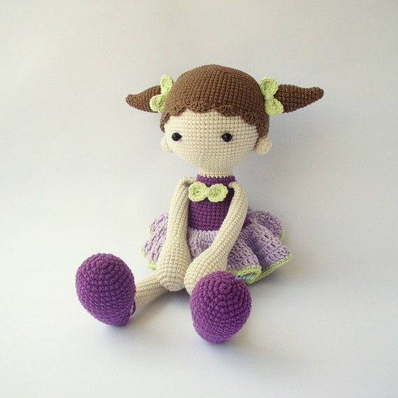 PDF Didi doll Balerina doll Crochet Pattern Doll Crochet   Etsy