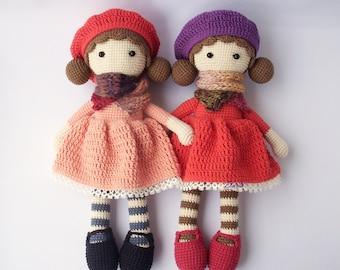 PDF Crochet doll Aria, crochet doll, Crochet Pattern - Doll Crochet Toy,  DIY tutorial