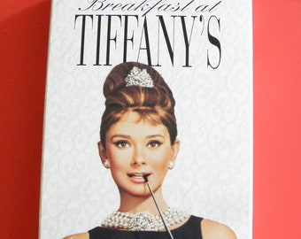 Breakfast at Tiffany's VHS Video Tape Box 1992 Cover Pre-owned Audrey Hepburn Peppard Buddy Ebsen Pat Neal Rooney