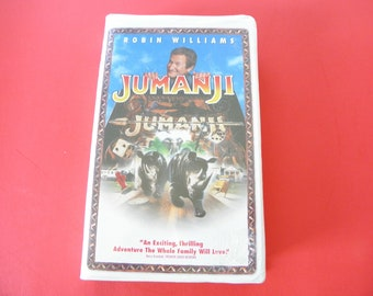 Jumanji VHS Video Tape Clam Shell Pre-owned Robin Williams