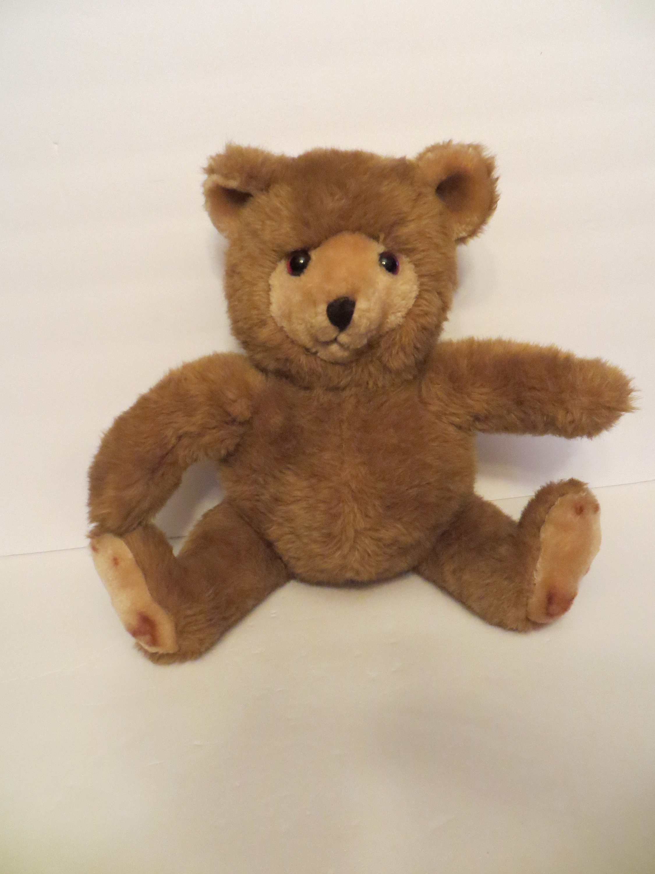 Vintage GUND Teddy Bear w No Name 1987 JC Penney Collection Golden Brown w Tags