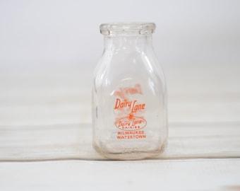 Milk Bottle Etsy
