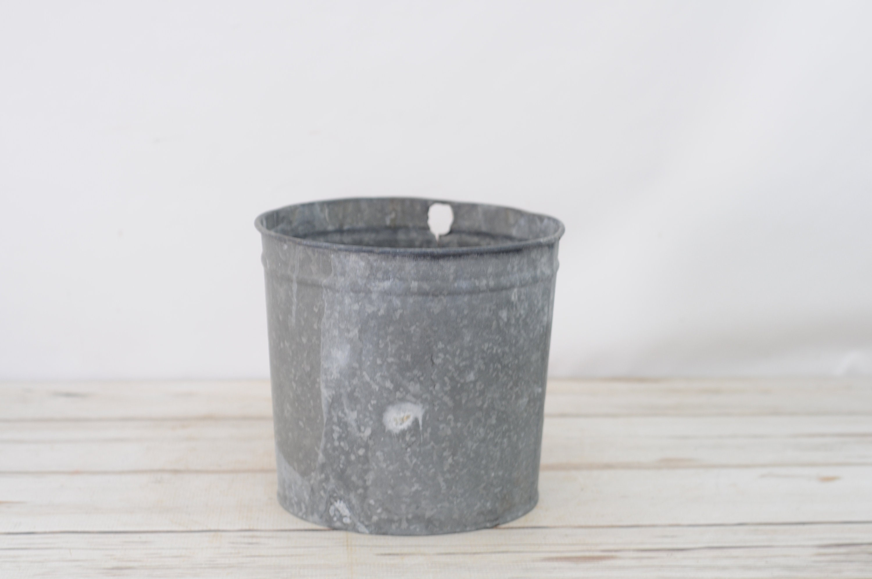 Galvanized Bucket Galvanized Metal Syrup Bucket Galvanized Etsy
