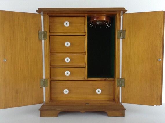 Jewelry Box Organizer Dresser Top Jewelry Storage Jewelry Etsy