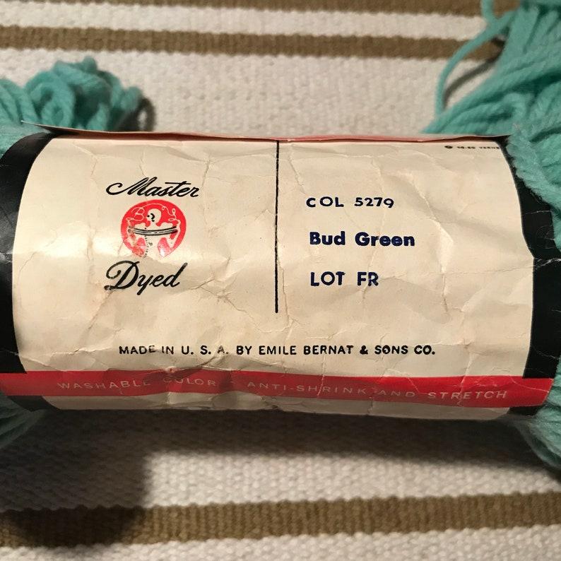 1 Skein of Bernat Nylo Knitting Worsted 50 Percent Wool Worsted 50 Percent Dupont Crimpset Nylon