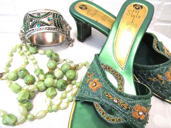 Chaussures VINTAGE avec gratuit vintage bijoux | Magnifique  Magnifique  Magnifique  ea3087