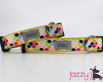 Summer Scales Dog Collar