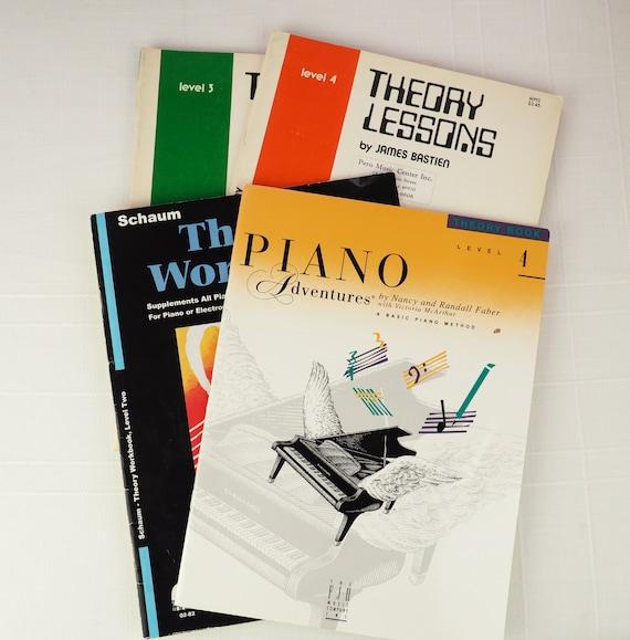 piano adventures lesson book level 4