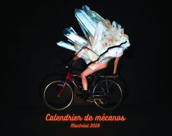 2018 Calendrier de mécanos Montréal