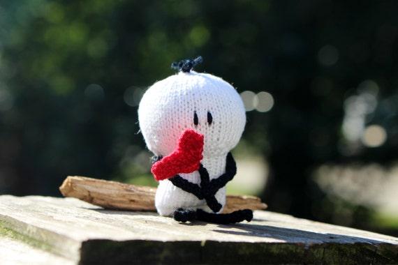 Knit Bigli Migli Doll With Heart Doll Or Car Mirror Decor Made To Order Stick Person Unique Valentine Gift