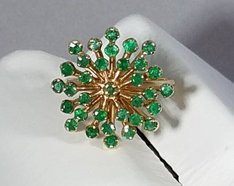 The Emerald Spritz 14K Yellow Gold Emerald Ring