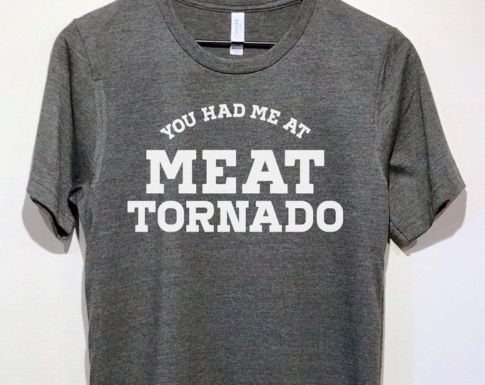 Featured listing image: Meat Tornado | Parks and Rec Tee