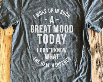 Great Mood Tee - Crew Neck Unisex - Fast Times at Ridgemont High Quote - Typography Design Shirt