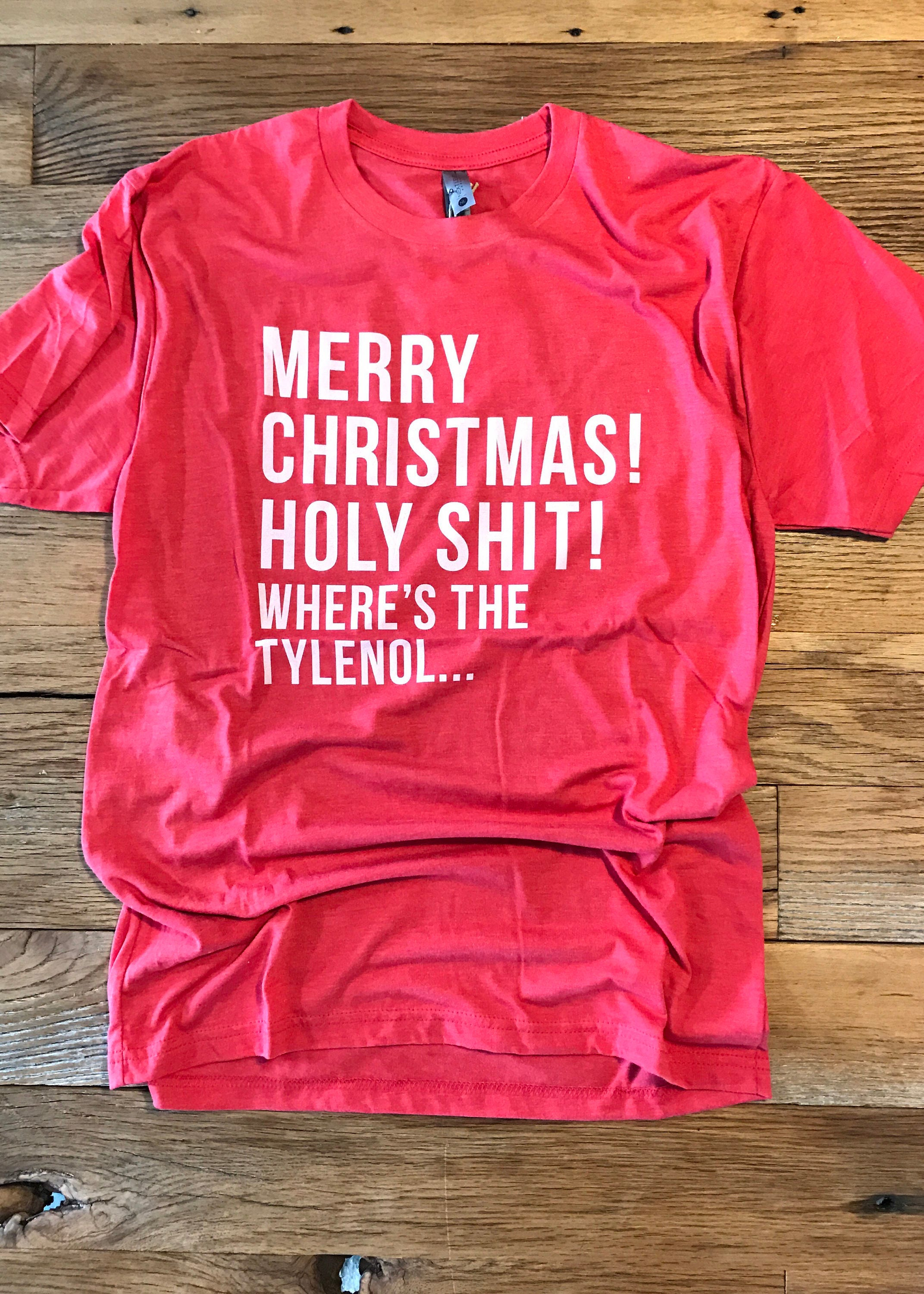 National Lampoons Christmas Vacation Tee Crew Neck Unisex Film