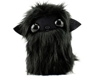 Void Boi Black on Black Nugget Plushie Cool Critter