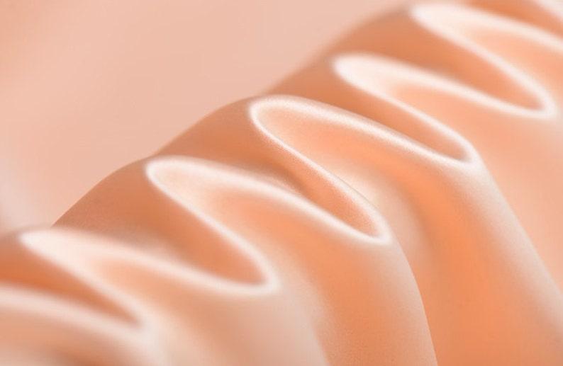 1 yard summer SkitsBlousesDresses Heavy Silk Satin Golden Pink 45 width 40mm Solid Color-Luxury Silk Fabric for Evening dresses