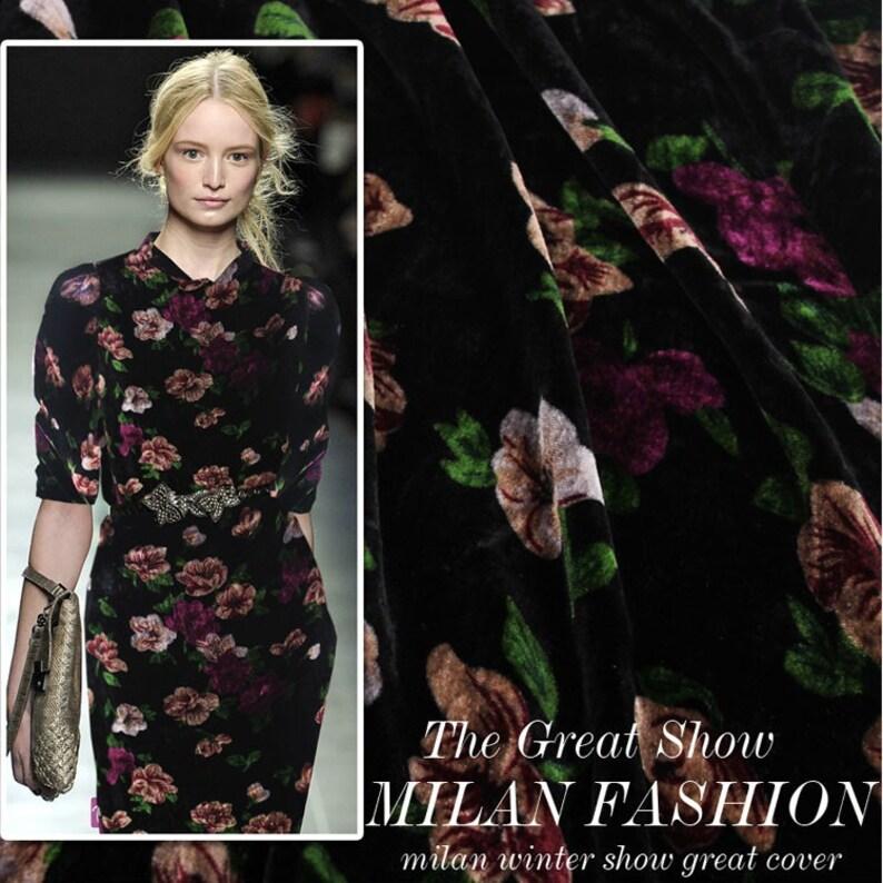 Silk Velvet Fancy Fabric for evening dressshirtsskirtsblousespillow case 1 yard 100/% Fine Silk Fabric