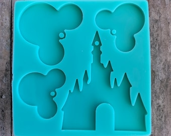 Medium Disney Castle Silicone Mold