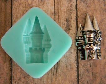 Silicone Flexible Mold- Castle