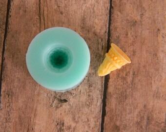 Silicone Flexible Mold - Ice Cream Cone