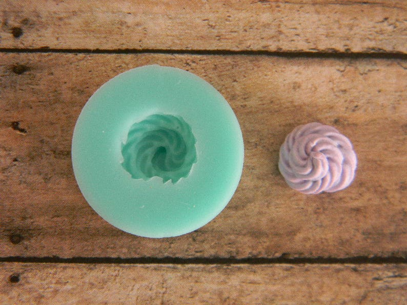 Silicone Flexible Mold 10mm Tiny Frosting