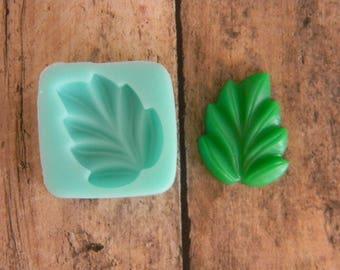 Silicone Flexible Mold- Leaf