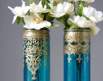 Boho Wedding Centerpiece, Engagement Party Decorations, Henna Wedding Decor