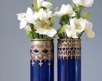 Bohemian Bedroom Bud Vase Set, Best Selling Items, Gypsy Glass Vase