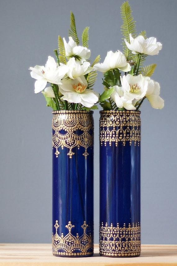 Bohemian Bedroom Bud Vase Set Best Selling Items Gypsy Glass Etsy