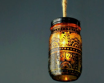 Boho Decor Candle Holder Moroccan Decor Tea Light Holder Lantern Centerpiece Moroccan Lantern Bohemian Bedroom Candle Lantern Patio Decor