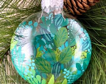Houseplant Decor Christmas Ornaments Jungalow Holiday Decor