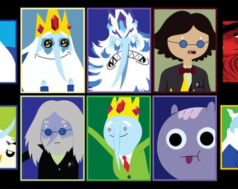 Adventure Time - The Ice King Sticker 10pk